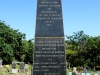 Stanger Cemetery - Monument to soldiers dying in Herwin & Stanger Hospitals - 1879 (2)