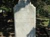 Stanger Cemetery - Grave  Sarah Bond 1892