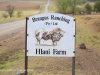 Swartberg Hlani Farm sign
