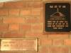 Swartberg Farmers Association MOTH plaque pilot officer IB Cooper 1941