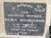 Sydenham St John with St Raphael grave  Backhouse - Nicholson - Twtnham