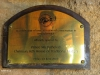 Umfolosi - Centenary Game Capture Centre - opening Plaque 2001 - MG Buthelezi