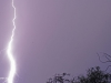 Umfolosi - Mpila camp - lightning strike