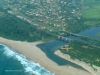 Umgababa road and rail bridge from air (2)