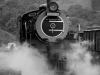 Umgeni Steam Railway Wesley Loco No 2685 at Inchanga station. (11)