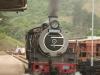 Umgeni Steam Railway Wesley Loco No 2685 at Inchanga station. (5)