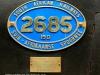 Umgeni Steam Railway Wesley Loco No 2685 at Kloof (6)