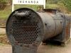 Umgeni Steam Railway rolling stock at Inchanga boiler