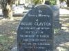 Umhlali Cemetery - grave - Bessie Clayton 1985