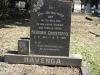 Umhlali Cemetery - grave -  Frederik Havenga 1987