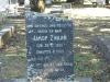Umhlali Cemetery - grave -  Jacob Zwaan 1988