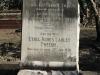 Umhlali Cemetery - grave -  James Alexander & Ethel Agnes Tweedie