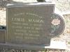 Umhlali Cemetery - grave -  Leslie Moham 1997