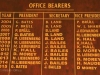 Umkomaas - Bowling Club - Honours Boards - office bearers (2)