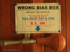 Umkomaas - Bowling Club - Wrong Bias Box -