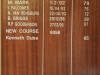Drakensberg Gardens - Glengarry Country Club - Honours boards (3)