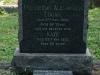 Verulam Cemetery grave  Fullerton & Kate Logan