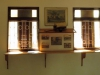 Oakford Priory Church - old photo displays (3)