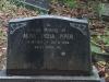 Westville-Cemetery-grave-Alma-Lydia-Piper-1975-81
