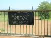 A Zimanga entrance gate