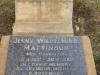 Bethany Farm Family Cemetery - Grave -  Arthur & Jenny Mattinson