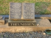 Bethany Farm Family Cemetery - Grave -  Herbert 1965 & Angela Theunissen (Faunt) 1969