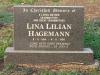 Bethany Farm Family Cemetery - Grave - Lina Lillian Hagemann 1996