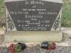 Bethany Farm Family Cemetery - Grave -  Nils 1971 & Thea 1972 Hagemann