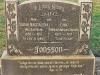 Bethany Farm Family Cemetery - Grave -  Sarah  1957 (nee Hagemann)& Eric Jonsson 1957