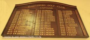 PMB Golf Club - Hayfields - Honours Boards (4)