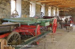 Talana Cemetary & Museum - Waggons & Carts (2)