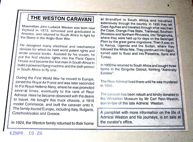 Winterton - Church Street - Museum - John Weston Caravan (2)