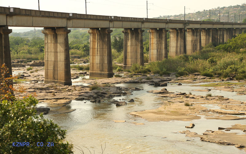Mandini - Tugela Bridge - Rail Bridge - current use (23)