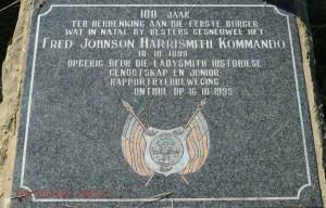Besters - Fred Johnson- Harrismith Kommando Monument - 18 Oct 1899 -  28.26.11 S 29.38.36 E (10)