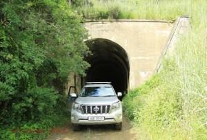 Van Reenens Pass - Old Rail Tunnel