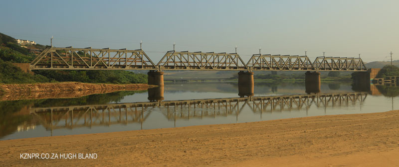 Illovo River rail bridge