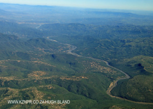 Lower Tugela above Mandini - Aerial (2)
