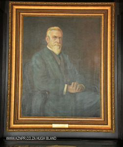 Kearsney College Sir Liege Hulett Room Portrait Sir JL Hulett)