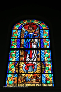 St Johns School Chapel stain glass windows (4)