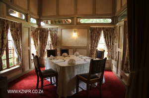 Midmar Fern Hill Hotel Old Railway Signal box dining area (2)