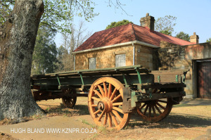 Himeville Fort and Museum transport wagon (1)