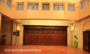 DURBAN - Jewish Club Hall entrance