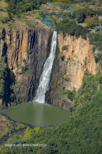 Howick Falls from air in June 2017 (6)