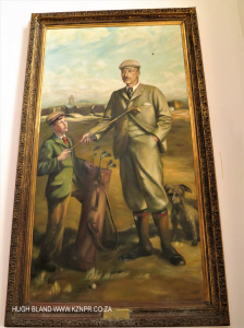 Princes Grant Club House painting