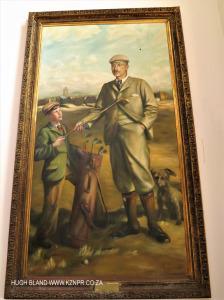 Princes Grant Club House painting