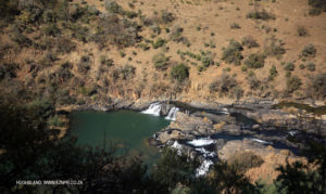 Bushmans river - upper reaches of Wagondrift Dam